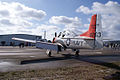 North American T-28B Trojan Navy N63NA LSideRear TICO 13March2010 (14597562114).jpg