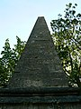 North face of the obelisk, Cotswold Avenue, Cirencester - geograph.org.uk - 1931290.jpg