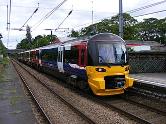 British Rail Class 333 - Image: Northern 333 at Guiseley