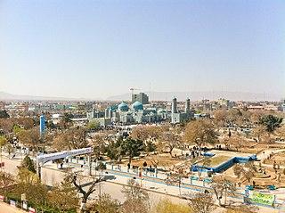 Mazar-i-Sharif City in Balkh Province, Afghanistan