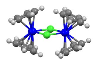 Bis(cyclopentadienyl)titanium(III) chloride Chemical compound