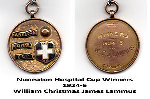 William Lammus - Nuneaton Hospital Cup