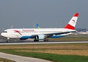 Austrian Airlines Boeing 767-3Z9ER at Vienna I...