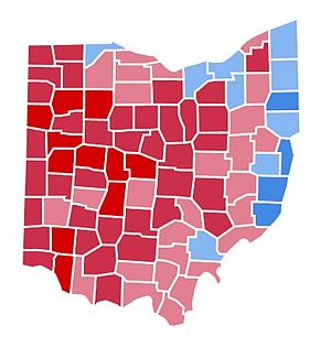 United States presidential election in Ohio, 1988 - Image: OH1988