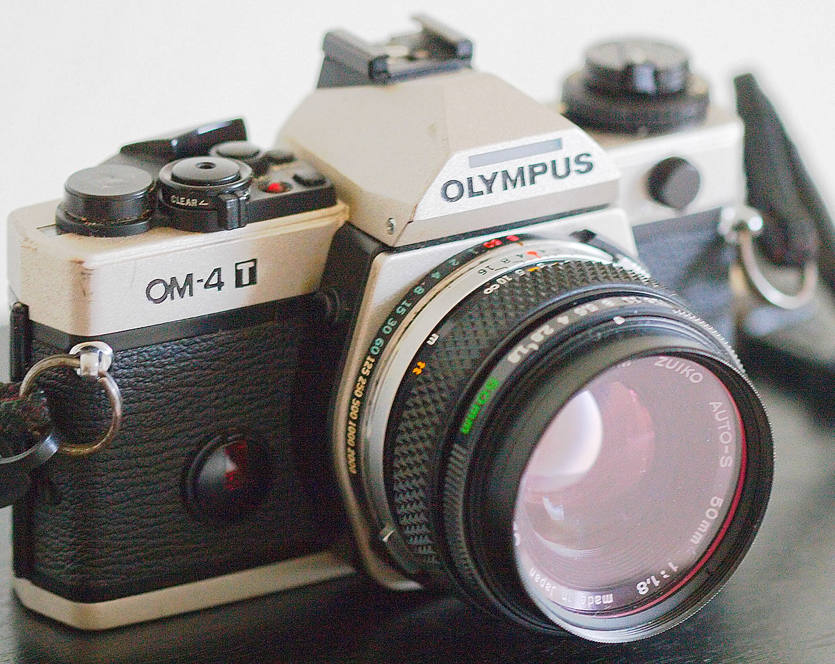 Olympus Om 4 Wikipedia Off If You Tip The Camera Over This Fully Exposes Flash Circuit
