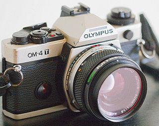 Olympus OM-4 camera model