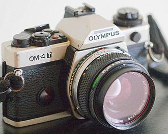 Olympus OM-4 - a much-used OM-4T