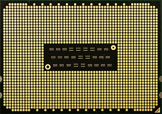 """Opteron - Back of """"Magny-Cours"""" processor (OS6132VAT8EGO)"""