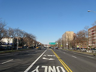 Ocean Parkway (Brooklyn) Boulevard in Brooklyn, New York