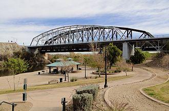 Yuma County, Arizona - Image: Ocean to Ocean Bridge, Yuma, AZ