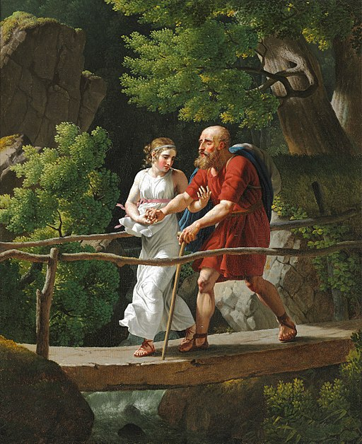 Oedipus and Antigone (Eckersberg)