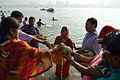 Offering to Sun God - Chhath Puja Ceremony - Ramkrishnapur Ghat - Howrah 2013-11-09 4098.JPG