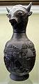 Oinochoe in bucchero a testa di toro, da chiusi, necropoli di fonte rotella, 600-550 ac. ca..JPG