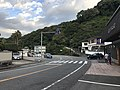 Oita Prefectural Road No.218 in front of Tornado Hell Geyser 1.jpg