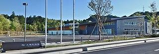 Ōkuma, Fukushima Town in Tōhoku, Japan
