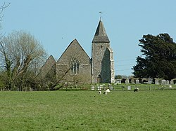 Old Romney Church, Romney Marsh, Kent. - geograph.org.uk - 4154.jpg