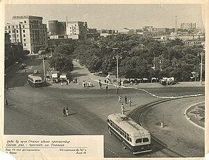 Azerbaijan Soviet Socialist Republic - Baku in the early 1950s.