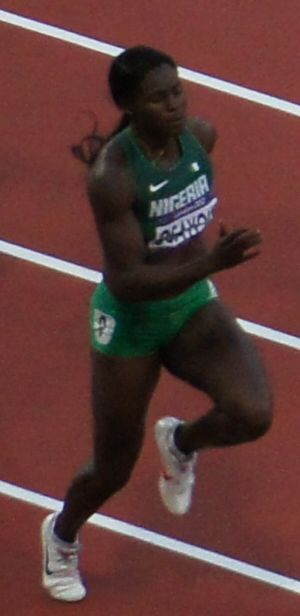 Oludamola Osayomi - Oludamola Osayomi at the 2012 Summer Olympics