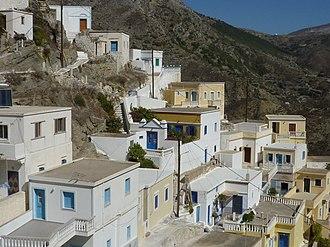 Olympos, Karpathos - Image: Olymbos, Karpathos
