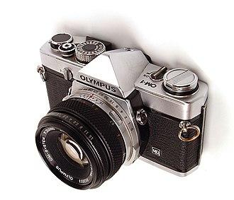 Olympus OM-1 - OM-1MD with 50 mm f/1.8 lens