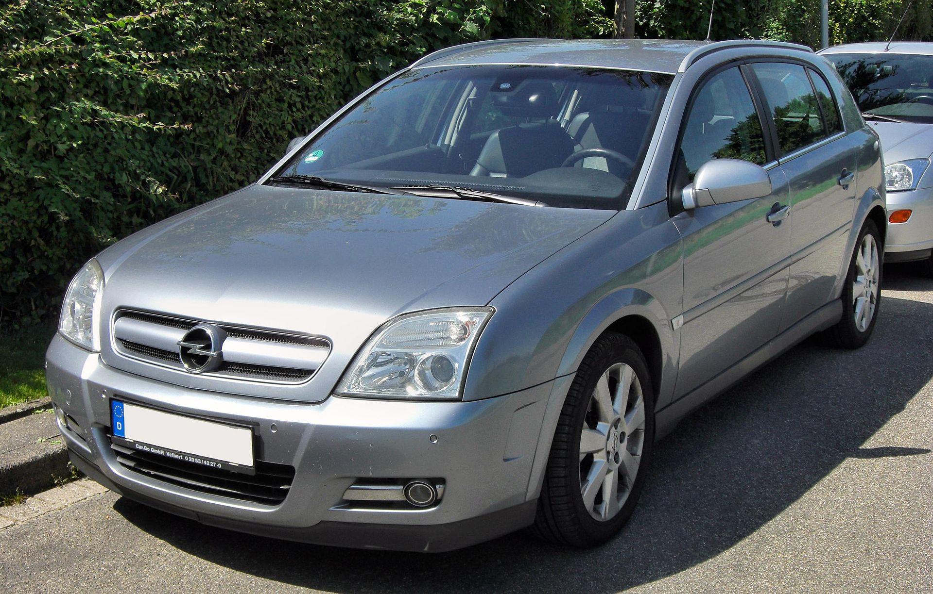 Voiture D Occasion >> Opel Signum — Wikipédia