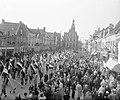 Opening van de Jan van Riebeeck feesten in Culemborg, met een groot defilé op de, Bestanddeelnr 905-0387.jpg