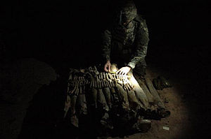 Operation Imposing Law - U.S. soldiers find a weapons cache 31 March 2007