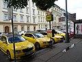 Opletalova, stanoviště taxi Modrý anděl.jpg