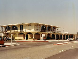 John Wayne Airport - Orange County Airport terminal, 1971