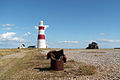 Orford Ness lighthouse and coastguard lookout - geograph.org.uk - 932937.jpg