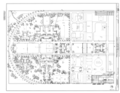 Original Drawing - Site Plan - Naval Air Station Moffett Field, Hanger No. 1, Cummins Avenue, Moffett Field, Sunnyvale, Santa Clara County, CA HAER CA-335-A (sheet 1 of 17).png