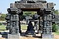 Ornate Nandi Mantapa Warangal Fort.jpg