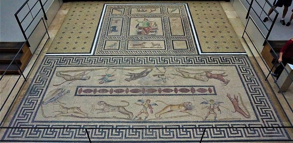 Orpheus Mosaic from Miletus - Pergamon Museum