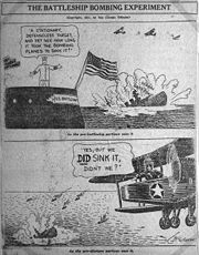 1921 cartoon in the Chicago Tribune