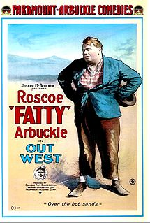 <i>Out West</i> (1918 film) 1918 film by Roscoe Arbuckle