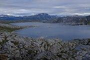 Overview of Litle Sokumvatnet and Namnlausvatnet.jpg