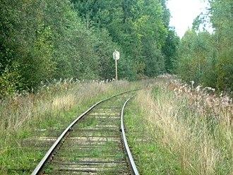 Vesyegonsky District - Ovinishchi–Vesyegonsk railway in Vesyegonsky District