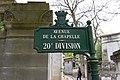 Père-Lachaise - Division 20 - Avenue de la chapelle 01.jpg