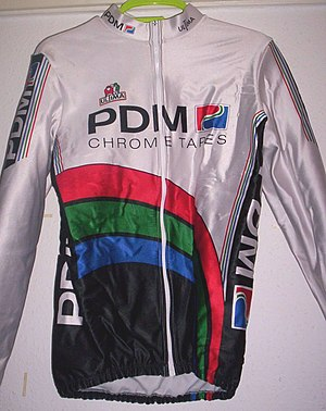 PDM (cycling team) - Image: PDM cycling jersey
