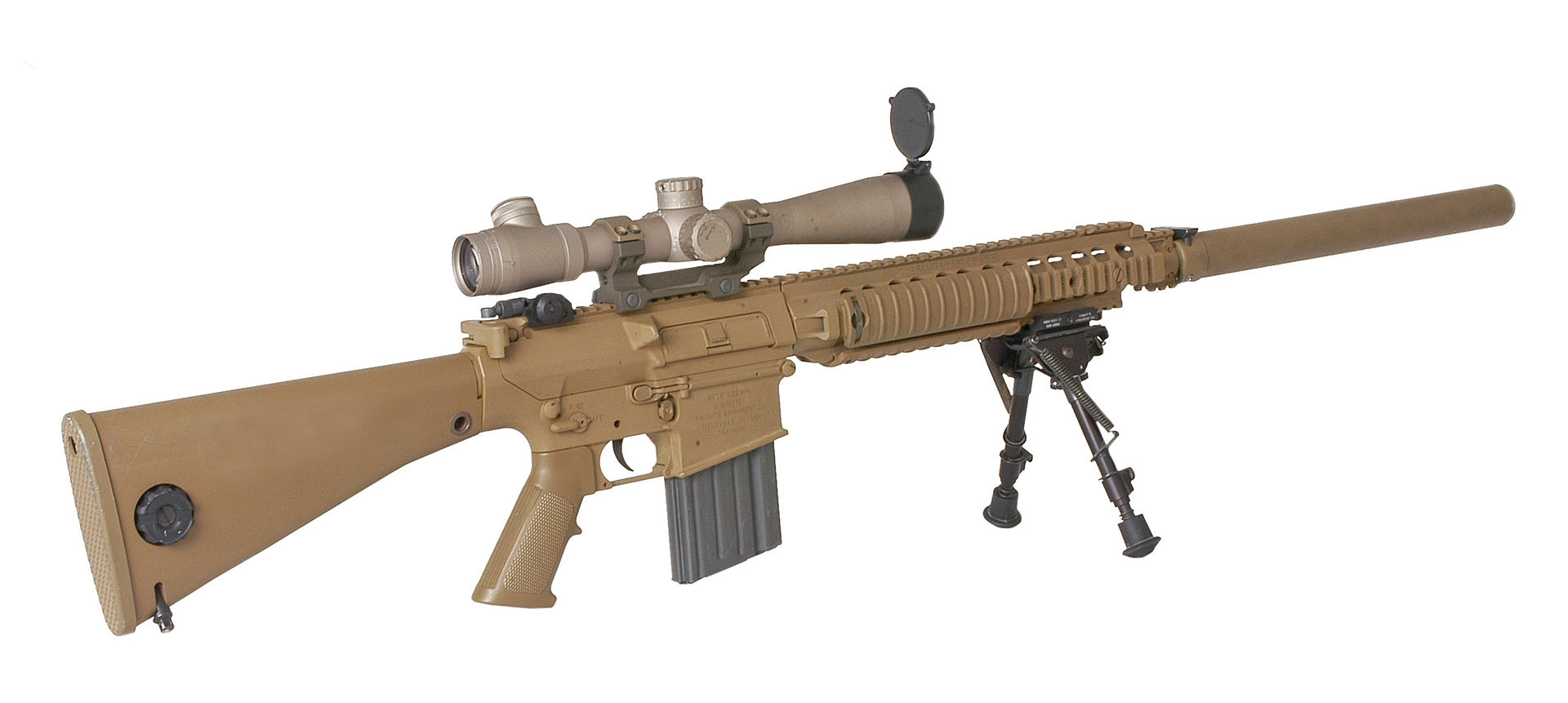 M110 Semi-Automatic Sniper System - Wikipedia M110 Sniper Rifle Suppressed