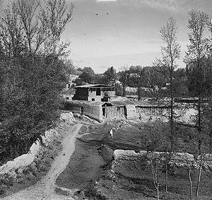 Kishlak -  A kishlak near Samarkand of early 1900s