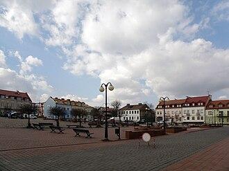 Serock - Image: POL Serock rynek 1