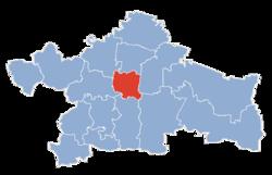 Vị trí của Białystok