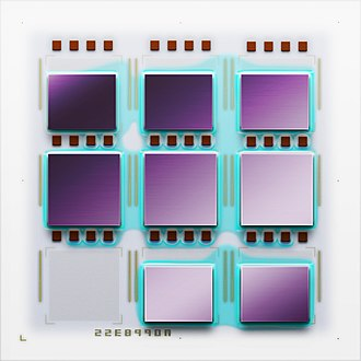 IBM POWER microprocessors - Image: POWER2+ MCM