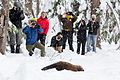 Pacific Fisher Release at Mount Rainier National Park (2016-12-17), 051.jpg