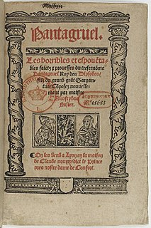 <i>Gargantua and Pantagruel</i> 16th-century novels by François Rabelais