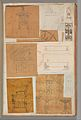 Page from a Scrapbook containing Drawings and Several Prints of Architecture, Interiors, Furniture and Other Objects MET DP372168.jpg