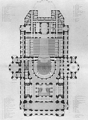 Orchestra pit - Palais Garnier orchestra pit plan