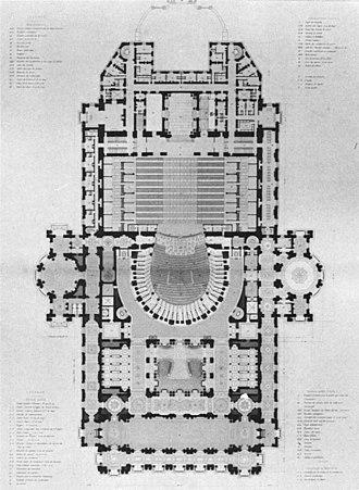 Orchestra pit - Palais Garnier orchestra pit plan