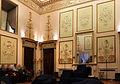 Palazzo Jacometti Ciofi, salone con stucchi 01.JPG